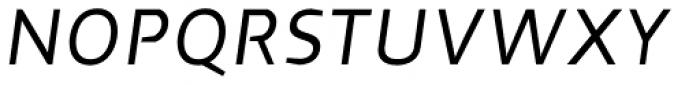 Cira Sans Italic Font UPPERCASE