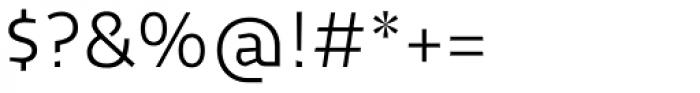 Cira Sans Light Font OTHER CHARS