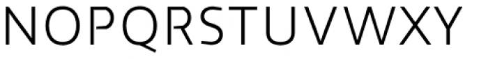 Cira Sans Light Font UPPERCASE