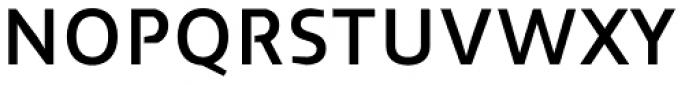 Cira Sans Semi Bold Font UPPERCASE
