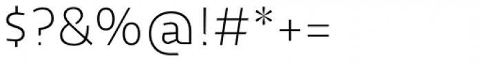 Cira Sans Ultra Light Font OTHER CHARS