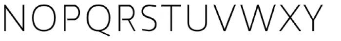 Cira Sans Ultra Light Font UPPERCASE