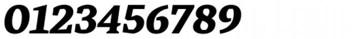 Cira Serif Black Italic Font OTHER CHARS