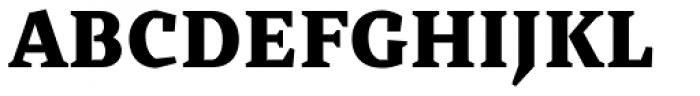 Cira Serif Black Font UPPERCASE