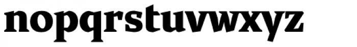 Cira Serif Black Font LOWERCASE