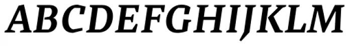 Cira Serif Bold Italic Font UPPERCASE