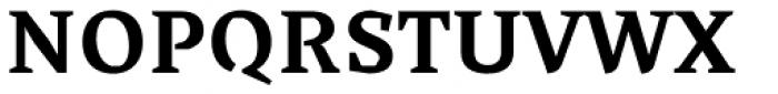 Cira Serif Bold Font UPPERCASE