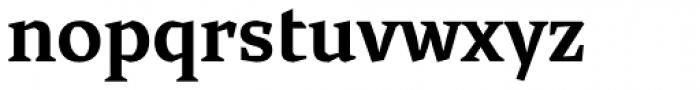 Cira Serif Bold Font LOWERCASE