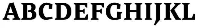 Cira Serif Extra Bold Font UPPERCASE