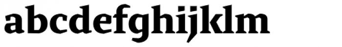 Cira Serif Extra Bold Font LOWERCASE