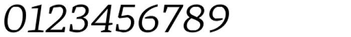 Cira Serif Italic Font OTHER CHARS