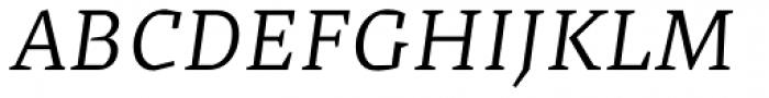 Cira Serif Italic Font UPPERCASE