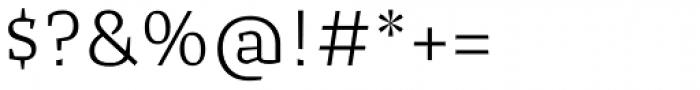 Cira Serif Light Font OTHER CHARS