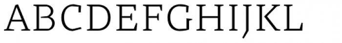 Cira Serif Light Font UPPERCASE