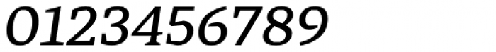 Cira Serif Semi Bold Italic Font OTHER CHARS
