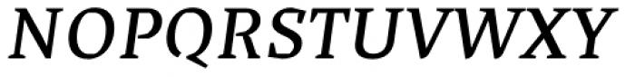 Cira Serif Semi Bold Italic Font UPPERCASE