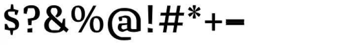 Cira Serif Semi Bold Font OTHER CHARS