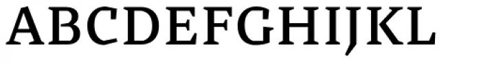 Cira Serif Semi Bold Font UPPERCASE