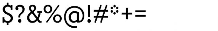 Circe Slab A Narrow Font OTHER CHARS