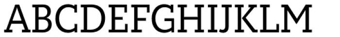 Circe Slab A Narrow Font UPPERCASE