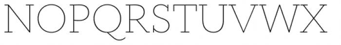 Circe Slab A Thin Font UPPERCASE