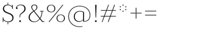 Circe Slab C Ultra Light Font OTHER CHARS