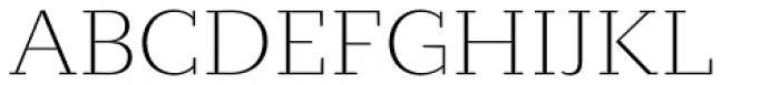 Circe Slab C Ultra Light Font UPPERCASE