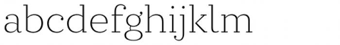 Circe Slab C Ultra Light Font LOWERCASE