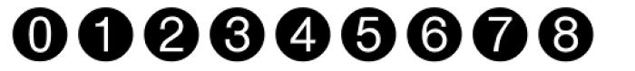 Circle Frame Neg MT Font OTHER CHARS