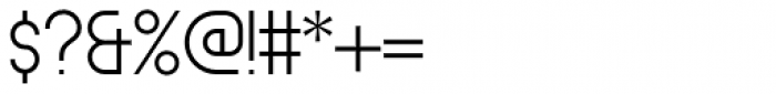 Circula Light Font OTHER CHARS