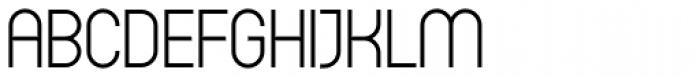 Circula Light Font UPPERCASE