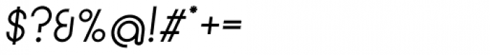 Circularis Alt Italic Font OTHER CHARS