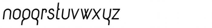 Circularis Alt Italic Font LOWERCASE