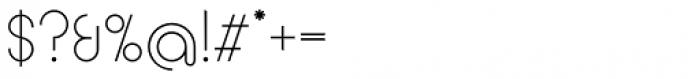 Circularis Light Alt Font OTHER CHARS