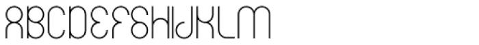 Circularis Light Alt Font UPPERCASE