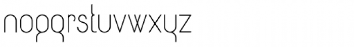 Circularis Light Alt Font LOWERCASE