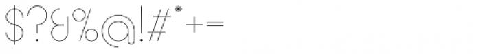 Circularis Thin Alt Font OTHER CHARS