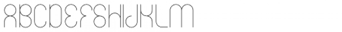 Circularis Thin Alt Font UPPERCASE
