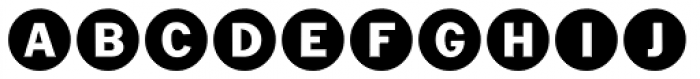 Circuletter JNL Font UPPERCASE