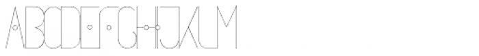 Circumactio Typeface Font UPPERCASE