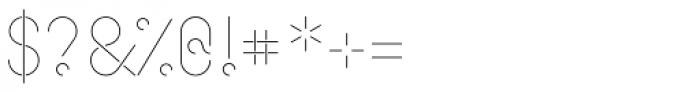Cirkel Pro Light Font OTHER CHARS
