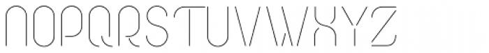 Cirkel Pro Light Font UPPERCASE