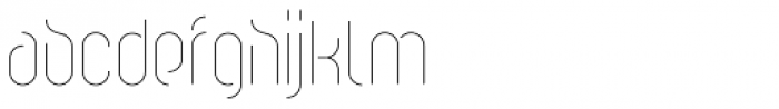 Cirkel Pro Light Font LOWERCASE