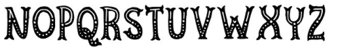 Cirkus Fantastiko Regular Font LOWERCASE