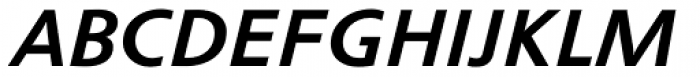 Cisalpin LT Std Bold Italic Font UPPERCASE