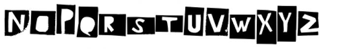 Ciseaux Matisse Boxed Font UPPERCASE