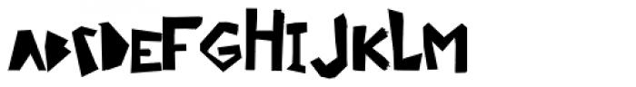 Ciseaux Matisse Cut Out Linear Font LOWERCASE