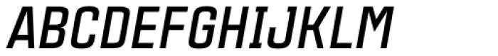Citadina Bold Italic Font UPPERCASE