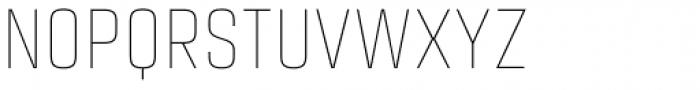 Citadina Thin Font UPPERCASE