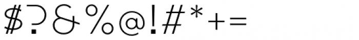 Citrine Light Font OTHER CHARS